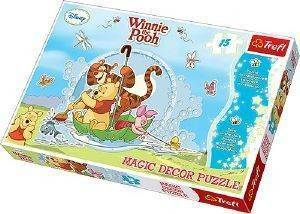 PUZZLE TREFL MAGIC DECOR WINNIE THE POOH 15 ΚΟΜΜΑΤΙΑ