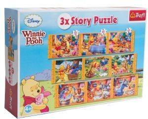 PUZZLE STORY TREFL WINNIE THE POOH 9 ΚΟΜΜΑΤΙΑ
