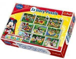 PUZZLE STORY TREFL MICKEY MOUSE 9 ΚΟΜΜΑΤΙΑ