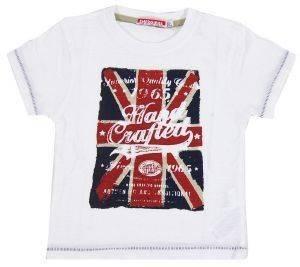 ΜΠΛΟΥΖΑ ΚΟΝΤΟΜΑΝΙΚΗ ENERGIERS ΛΕΥΚΟ (86ΕΚ.)-(12-18ΜΗΝΩΝ) βρεφικά   παιδικά αγορι μπλουζεσ t shirts