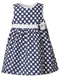 ΦΟΡΕΜΑ ENERGIERS ΠΟΠΛΥΝΑ ΜΠΛΕ ΠΟΥΑ (68ΕΚ.)-(3-6 ΜΗΝΩΝ) βρεφικά   παιδικά κοριτσι φουστεσ φορεματακια φορεματακια