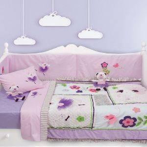 ΒΡΕΦΙΚΟ ΚΟΥΒΕΡΛΙ ΚΟΥΝΙΑΣ DAS HOME DREAM LINE EMBROIDERY 6338 FLOWERS 3ΤΜΧ βρεφικά   παιδικά λευκα ειδη δωματιο κουβερλι