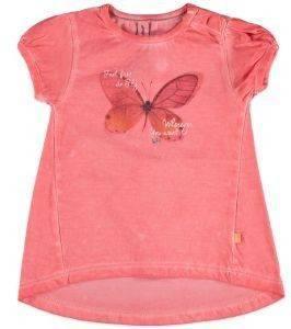 ΜΠΛΟΥΖΑ ΜΕ ΚΟΝΤΟ ΜΑΝΙΚΙ BABYFACE 8630 ΚΟΡΑΛΙ (86ΕΚ.)-(12-18 ΜΗΝΩΝ) βρεφικά   παιδικά κοριτσι μπλουζεσ t shirts