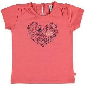ΜΠΛΟΥΖΑ ΜΕ ΚΟΝΤΟ ΜΑΝΙΚΙ BABYFACE 8608 ΚΟΡΑΛΙ (86ΕΚ.)-(12-18 ΜΗΝΩΝ) βρεφικά   παιδικά κοριτσι μπλουζεσ t shirts