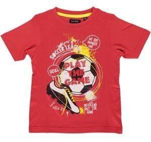 ΜΠΛΟΥΖΑ ΜΕ ΚΟΝΤΟ ΜΑΝΙΚΙ BLUE SEVEN 802002 ΚΟΚΚΙΝΟ (104ΕΚ.)-(3-4 ΕΤΩΝ) βρεφικά   παιδικά αγορι μπλουζεσ t shirts