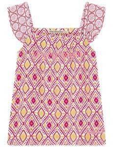ΜΠΛΟΥΖΑ PEPE JEANS FANCY PRINT/MULTI ΡΟΖ (104ΕΚ.)-(3-4ΕΤΩΝ) βρεφικά   παιδικά κοριτσι μπλουζεσ με ραντακι