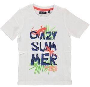 ΜΠΛΟΥΖΑ ΜΕ ΚΟΝΤΟ ΜΑΝΙΚΙ BLUE SEVEN KNITTED 802014 CRAZY SUMMER (110ΕΚ.)-(5 ΕΤΩΝ) βρεφικά   παιδικά αγορι μπλουζεσ t shirts