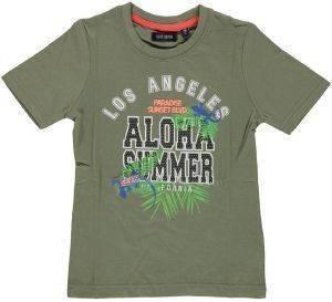 ΜΠΛΟΥΖΑ ΜΕ ΚΟΝΤΟ ΜΑΝΙΚΙ BLUE SEVEN KNITTED 802014 ALOHA SUMMER (98ΕΚ.)-(2-3ΕΤΩΝ) βρεφικά   παιδικά αγορι μπλουζεσ t shirts