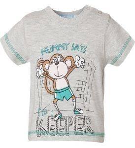 ΒΡΕΦΙΚΗ ΜΠΛΟΥΖΑ ENERGIERS ΓΚΡΙ ΜΕΛΑΝΖΕ (86ΕΚ.)-(12-18ΜΗΝΩΝ) βρεφικά   παιδικά αγορι μπλουζεσ t shirts