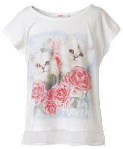 ΜΠΛΟΥΖΑ ΜΕ ΚΟΝΤΟ ΜΑΝΙΚΙ ENERGIERS ΕΚΡΟΥ (176ΕΚ.)-(16ΕΤΩΝ) βρεφικά   παιδικά κοριτσι μπλουζεσ t shirts
