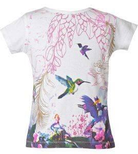ΜΠΛΟΥΖΑ ΚΟΝΤΟΜΑΝΙΚΗ ENERGIERS ΛΕΥΚΟ (80ΕΚ.)-(6-12 ΜΗΝΩΝ) βρεφικά   παιδικά κοριτσι μπλουζεσ t shirts