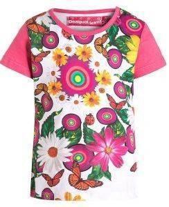 ΜΠΛΟΥΖΑ ΚΟΝΤΟΜΑΝΙΚΗ DESIGUAL AINA ΦΛΟΡΑΛ (86ΕΚ.)-(18-24ΜΗΝΩΝ) βρεφικά   παιδικά κοριτσι μπλουζεσ t shirts