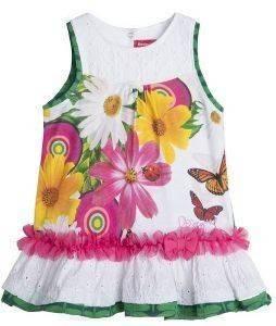 ΦΟΡΕΜΑ DESIGUAL VEST CRISTINA 1000/ΛΕΥΚΟ (86ΕΚ.)-(18-24ΜΗΝΩΝ) βρεφικά   παιδικά κοριτσι φουστεσ φορεματακια φορεματακια