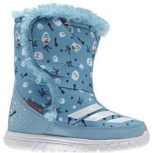 ΜΠΟΤΑΚΙ ADIDAS PERFORMANCE DISNEY FROZEN MID ΓΑΛΑΖΙΟ (UK:6K, EUR:23)