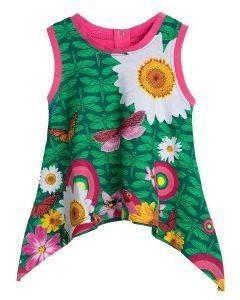 ΜΠΛΟΥΖΑ ΑΜΑΝΙΚΗ DESIGUAL NOEMI VERDE AUSTRALIA (86ΕΚ.)-(18-24ΜΗΝΩΝ) βρεφικά   παιδικά κοριτσι μπλουζεσ ασυμμετρεσ