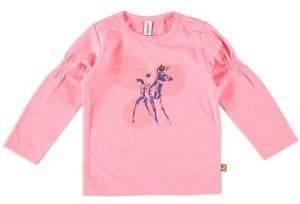 ΜΠΛΟΥΖΑ BABYFACE LETS PLAY ΡΟΖ (80ΕΚ.)-(12-18 ΜΗΝΩΝ) βρεφικά   παιδικά κοριτσι μπλουζεσ μακρυμανικεσ