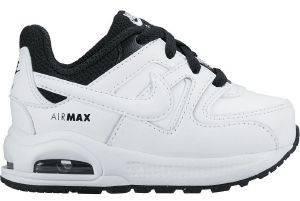 ΠΑΠΟΥΤΣΙ NIKE AIR MAX COMMAND FLEX LEATHER (TD) ΛΕΥΚΟ/ΜΑΥΡΟ (USA:3C, EU:18.5) βρεφικά   παιδικά αγορι υποδηση αθλητικα αθλητικα παπουτσια