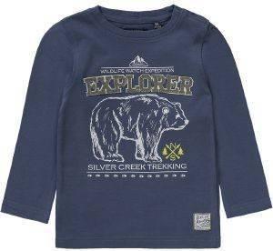 ΜΠΛΟΥΖΑ ΜΑΚΡΥΜΑΝΙΚΗ BLUE SEVEN EXPLORER ΜΠΛΕ (74ΕΚ)-(9-12ΜΗΝΩΝ) βρεφικά   παιδικά αγορι μπλουζεσ μακρυμανικεσ