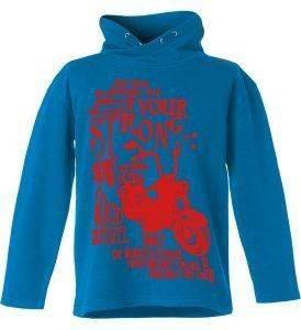 ΜΠΛΟΥΖΑ ΜΑΚΡΥΜΑΝΙΚΗ ENERGIERS ΜΠΛΕ (140ΕΚ.)-(10ΕΤΩΝ) βρεφικά   παιδικά αγορι φουτερ hoodies