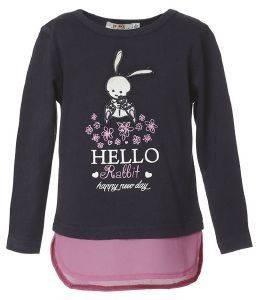 ΜΠΛΟΥΖΑ BEBE ENERGIERS ΙΝΤΙΓΚΟ (116ΕΚ.)-(4-5 ΕΤΩΝ) βρεφικά   παιδικά κοριτσι μπλουζεσ μακρυμανικεσ