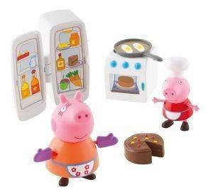 ΚΟΥΖΙΝΑ GIOCHI PREZIOSI PEPPA PIG βρεφικά είδη παιχνιδια 36 μηνων και ανω φιγουρεσ