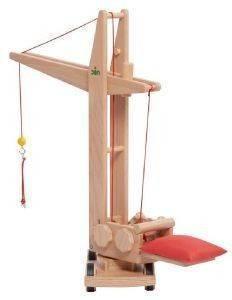 ΞΥΛΙΝΟΣ ΓΕΡΑΝΟΣ ΟΙΚΟΔΟΜΗΣ NIC BUILDING CRANE 85CM [1874] βρεφικά είδη παιχνιδια 36 μηνων και ανω ξυλινα οικολογικα παιχνιδια