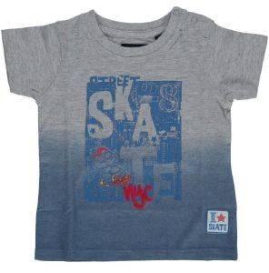 T-SHIRT BLUE SEVEN STREET SKATE NYC 928028 ΓΚΡΙ/ΜΠΛΕ (74ΕΚ.)-(9-12ΜΗΝΩΝ) βρεφικά   παιδικά αγορι μπλουζεσ t shirts