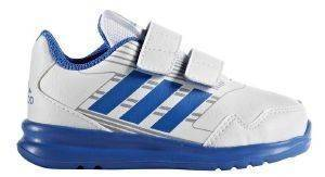 ΠΑΠΟΥΤΣΙ ADIDAS ALTARUN ΛΕΥΚΟ/ΜΠΛΕ (UK:7K, EUR:24) βρεφικά είδη αγορι υποδηση αθλητικα παπουτσια