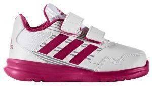 ΠΑΠΟΥΤΣΙ ADIDAS ALTARUN ΛΕΥΚΟ/ΡΟΖ (UK:7K, EUR:24) βρεφικά είδη κοριτσι υποδηση αθλητικα παπουτσια