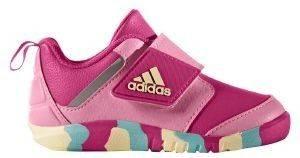 ΠΑΠΟΥΤΣΙ ADIDAS FORTAPLAY ΡΟΖ (UK:7K, EUR:24) βρεφικά είδη κοριτσι υποδηση αθλητικα παπουτσια