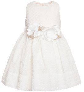 ΦΟΡΕΜΑ MONNALISA ABITO C/CINTURA BOUQUET 739903F5-9910 ΚΡΕΜ (89ΕΚ.)-(18 ΜΗΝΩΝ) βρεφικά   παιδικά κοριτσι φουστεσ φορεματακια φορεματακια