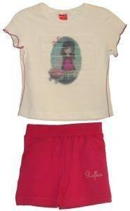 ΣΕΤ ΦΟΡΜΑΣ ΜΠΕΜΠΕ 74558 (92ΕΚ.)-(1-2 ΕΤΩΝ) βρεφικά   παιδικά κοριτσι φορμεσ κοντο μανικι