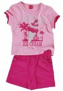 ΣΕΤ ΦΟΡΜΑΣ REFLEX SUMMER ICE CREAM 74570 ΡΟΖ-ΦΟΥΞΙΑ (104ΕΚ)-(3-4ΕΤΩΝ) βρεφικά   παιδικά κοριτσι φορμεσ κοντο μανικι