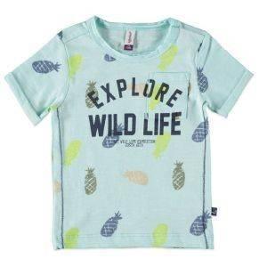 T-SHIRT BABYFACE 7649 ΣΙΕΛ (98ΕΚ.)-(2.5-3.5 ΕΤΩΝ) βρεφικά   παιδικά αγορι μπλουζεσ t shirts