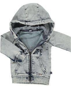 ΖΑΚΕΤΑ ΜΕ ΜΑΚΡΥ ΜΑΝΙΚΙ BABYFACE 7443 WATER (86ΕΚ.)-(18-24ΜΗΝΩΝ) βρεφικά   παιδικά αγορι φουτερ hoodies με φερμουαρ