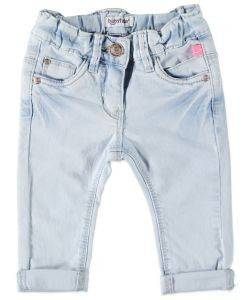 JEANS ΠΑΝΤΕΛΟΝΙ ΤΖΗΝ BABYFACE BLEACH DENIM 8240 ΑΝΟΙΧΤΟ ΣΙΕΛ (110ΕΚ.)-(4.5-5.5 Ε βρεφικά   παιδικά κοριτσι παντελονακια jeans