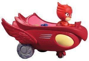 ΠΙΤΖΑΜΟΗΡΩΑΣ GIOCHI PREZIOSI PJ MASKS OWL ΜΕ ΟΧΗΜΑ βρεφικά   παιδικά παιχνιδια 36 μηνων και ανω φιγουρεσ