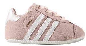ΠΑΠΟΥΤΣΙ ADIDAS ORIGINALS GAZELLE CRIB ΡΟΖ (UK:3K, EU:19) βρεφικά   παιδικά κοριτσι υποδηση παπουτσακια αγκαλιασ