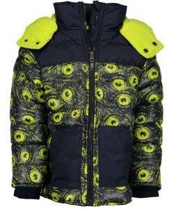 ΜΠΟΥΦΑΝ BLUE SEVEN 895504 ΜΠΛΕ/ΠΡΑΣΙΝΟ (116ΕΚ.)-(6ΕΤΩΝ) βρεφικά   παιδικά αγορι μπουφαν σακακια μπουφαν
