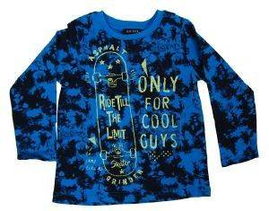 ΜΠΛΟΥΖΑ ΜΑΚΡΥΜΑΝΙΚΗ BLUE SEVEN 850554-658 ΜΠΛΕ ΠΑΡΑΛΛΑΓΗΣ (116ΕΚ.)-(5-6 ΕΤΩΝ) βρεφικά   παιδικά αγορι μπλουζεσ μακρυμανικεσ