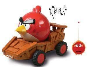 ΤΗΛΕΚΑΤΕΥΘΥΝΟΜΕΝΟ ΟΧΗΜΑΤΑΚΙ NIKKO PS ANGRY BIRDS RED BIRD [34/180037A] βρεφικά   παιδικά παιχνιδια 36 μηνων και ανω προσχολικα