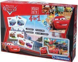 EDUKIT 4 ΣΕ 1 AS CARS [1040-93225] βρεφικά   παιδικά παιχνιδια 36 μηνων και ανω εκπαιδευτικα