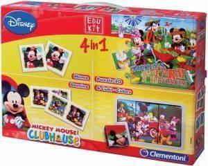 EDUKIT 4 ΣΕ 1 AS MICKEY [1040-93227] βρεφικά   παιδικά παιχνιδια 36 μηνων και ανω εκπαιδευτικα
