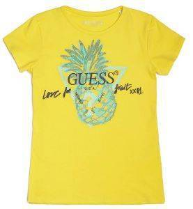 T-SHIRT GUESS KIDS J82I33 J1300-HYGL ΚΙΤΡΙΝΟ