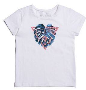 T-SHIRT GUESS KIDS K82I01 J1300 ΛΕΥΚΟ