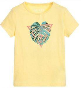 T-SHIRT GUESS KIDS K82I01 J1300-G211 ΚΙΤΡΙΝΟ