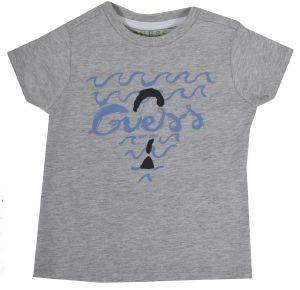 T-SHIRT GUESS KIDS N82I11 I3Z00-M90 ΓΚΡΙ ΜΕΛΑΝΖΕ