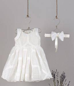ΦΟΡΕΜΑ ANGEL WINGS CHARLOT 259 ΕΚΡΟΥ (92ΕΚ.)-(18-24ΜΗΝΩΝ) βρεφικά   παιδικά κοριτσι φορεματακια αμπιγιε