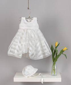 ΦΟΡΕΜΑ ANGEL WINGS ΡΙΓΕ ΑΣΥΜΜΕΤΡΟ 249 ΕΚΡΟΥ (92ΕΚ.)-(18-24ΜΗΝΩΝ) βρεφικά   παιδικά κοριτσι φορεματακια αμπιγιε