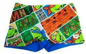ΜΑΓΙΟ ARENA NINJA TURTLES SHORTS ΜΠΛΕ